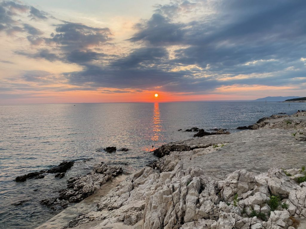 Last minute sunset at Slatina Camping