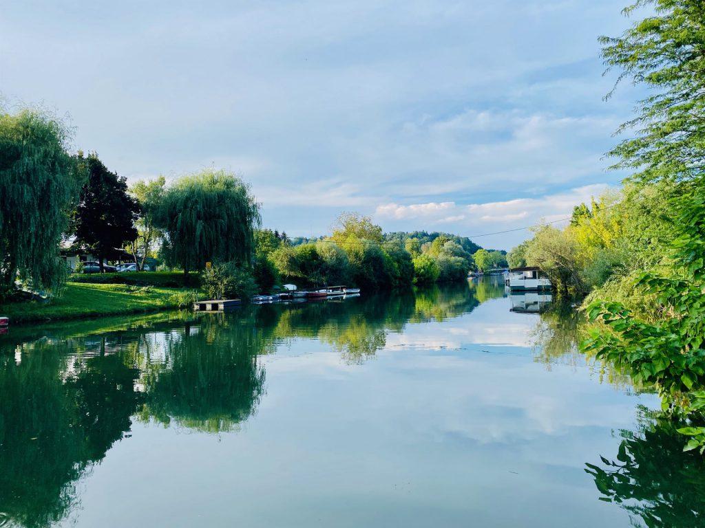 Ljublanika river