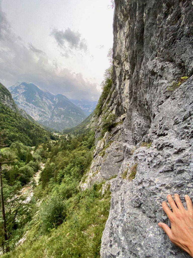high above Trenta valley