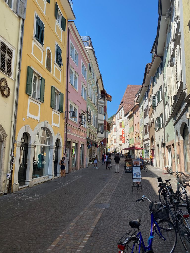 Bozen - old town