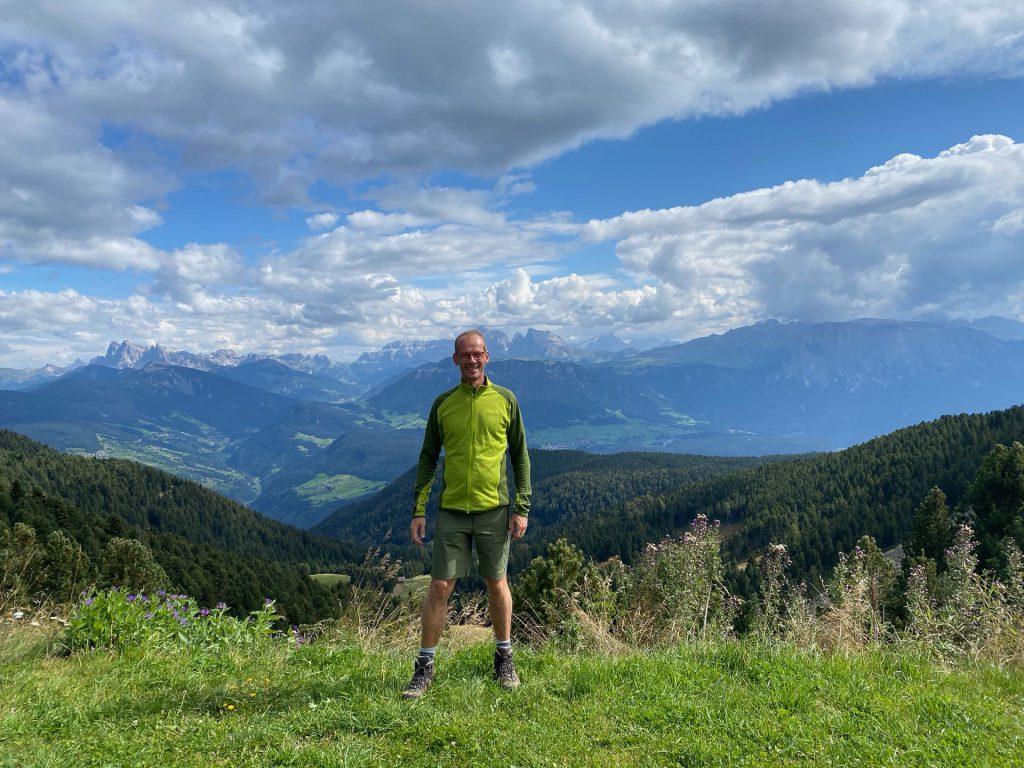 Ritten - Panorama View of Dolomites